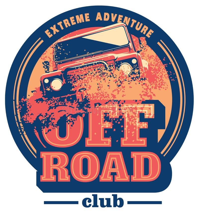 Free Off-road Car Logo, Safari Suv, Expedition Offroader. Stock Image - 86104141