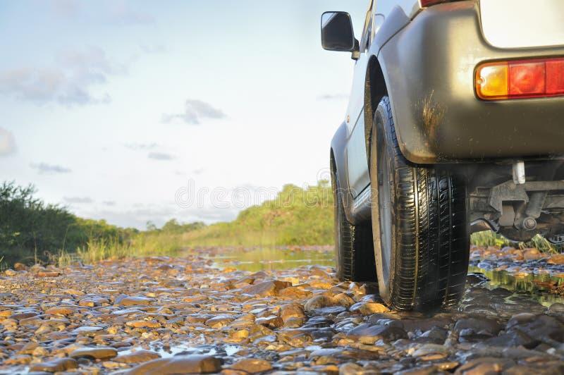 Off-road drijven stock foto