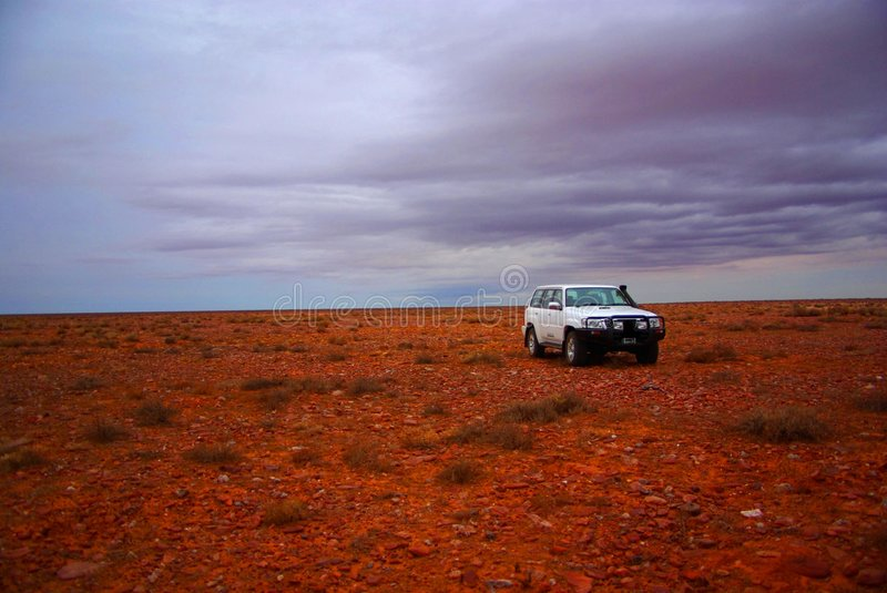 Download Off-Road in the Outback stock photo. Image of cloudy, driving - 5712082