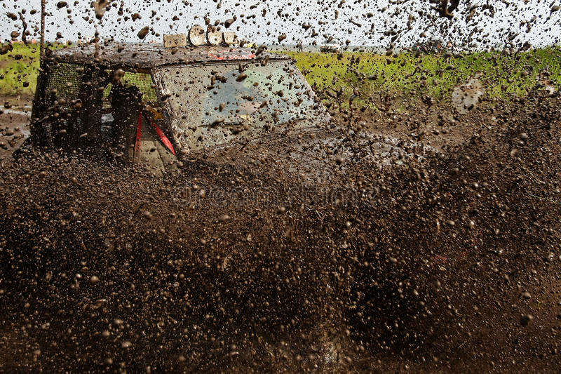 Off-road racing - Ukraine stock photography