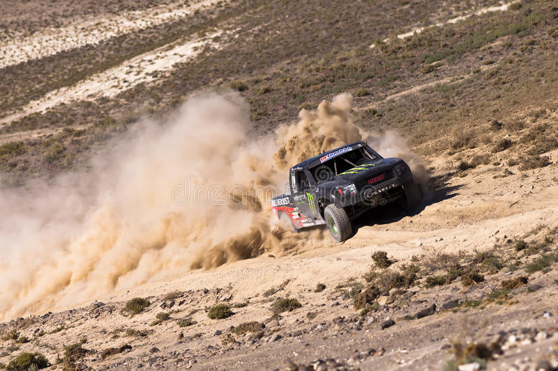 Off Road Truck Race royalty free stock photography