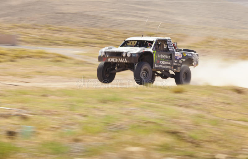 Off Road Truck Racing royalty free stock image