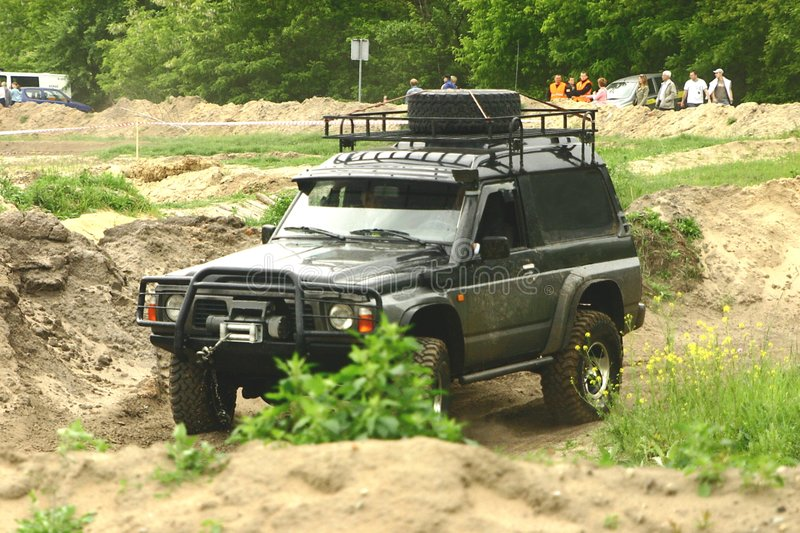 Off road vehicle royalty free stock photography
