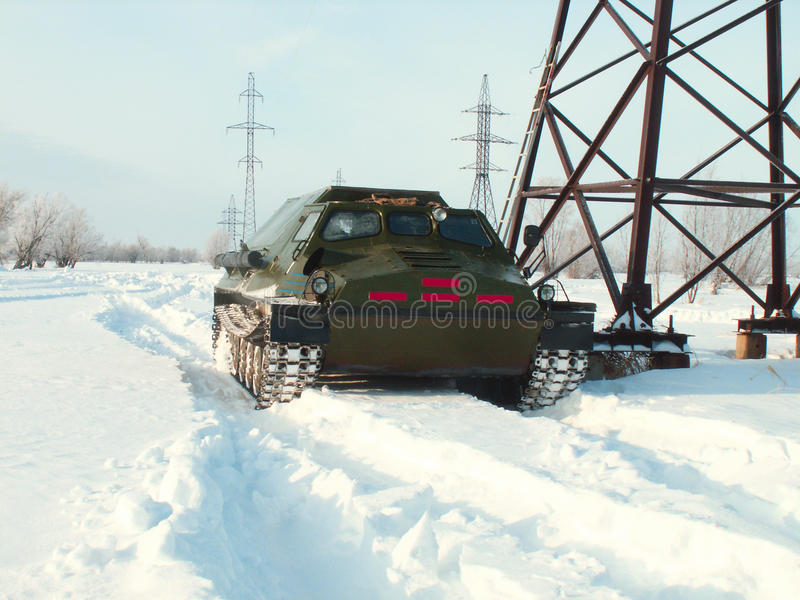 Download Off-road Vehicles In The Snow Stock Photo - Image: 10626142