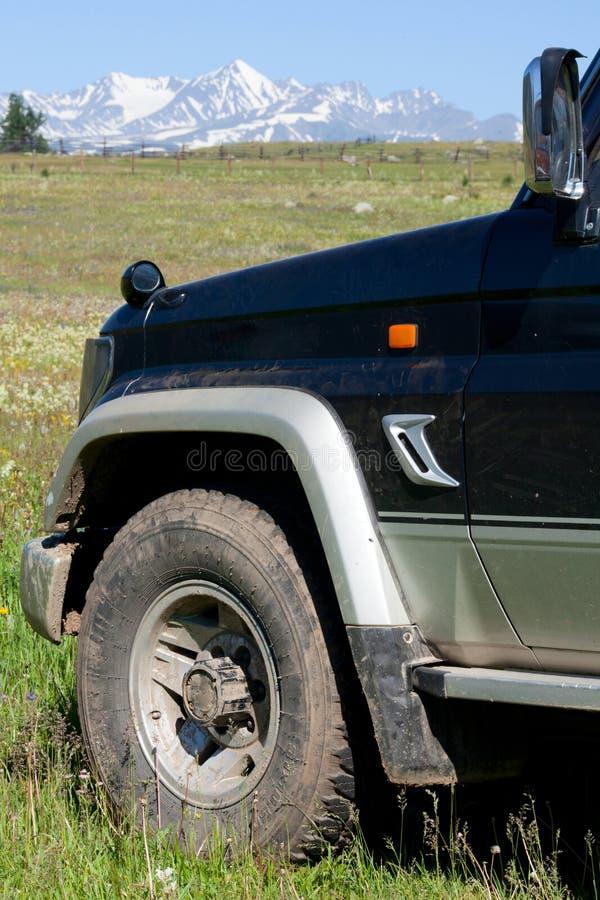 Off-road voertuig stock fotografie
