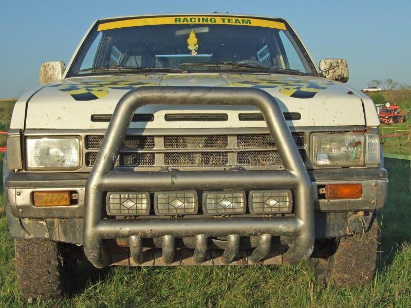 Off-road voertuig stock foto's