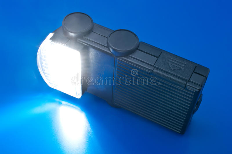 Off Small Camera Flash Firing royalty free stock images