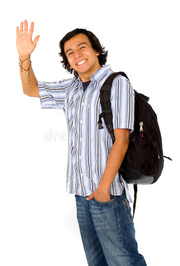 Download Off to college stock image. Image of book, notebook, smile - 2707247