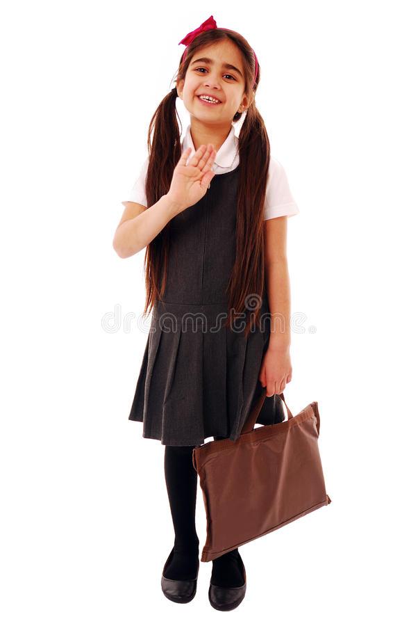 Off to school royalty free stock photography