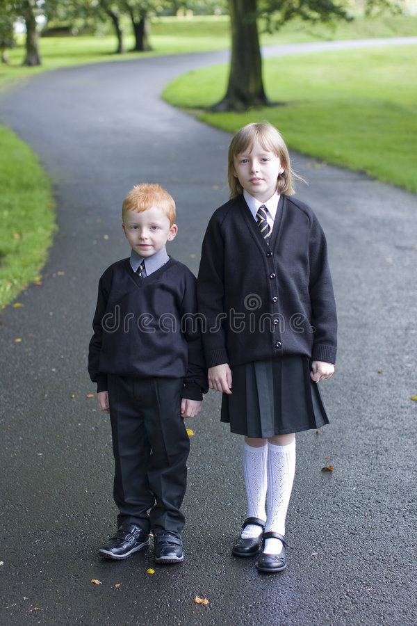 Download Off to school stock photo. Image of school, child, classmates - 8202466