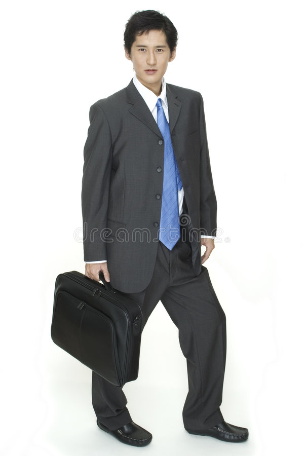 Download Off To Work stock photo. Image of carry, case, intelligent - 100196