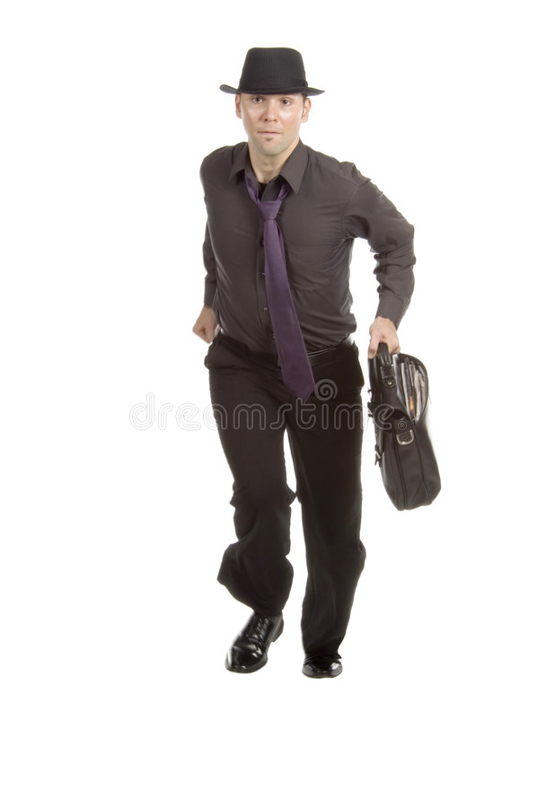 Download Off to work stock image. Image of isolated, sobriety, model - 599015