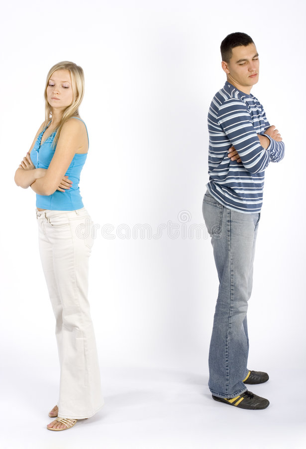 Download Offended young couple stock photo. Image of desire, adult - 1616068