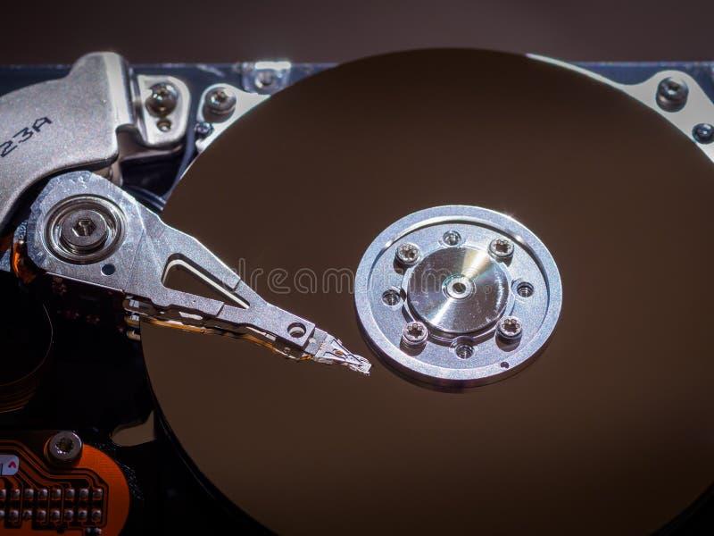 Offene Computer-Festplatte stockfotos