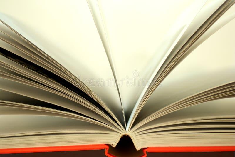 Offenes Buch stockfoto