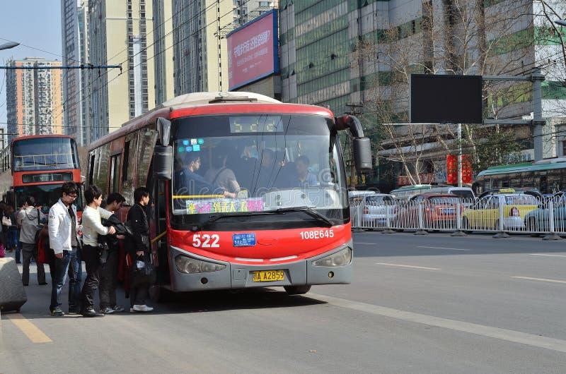 offentlig buss arkivfoton