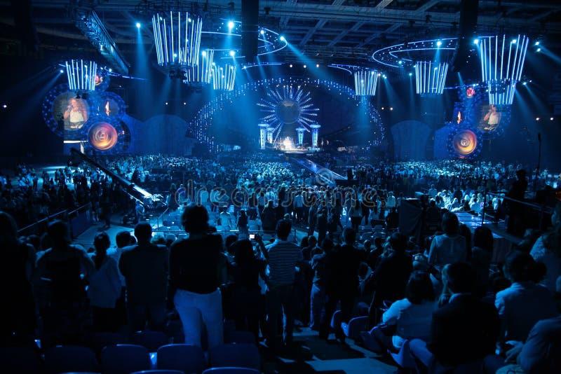 offentlig konsert royaltyfri bild