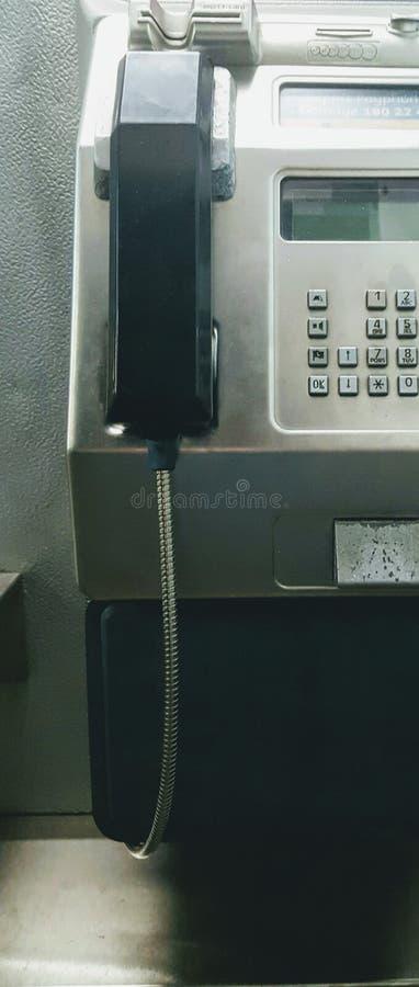 offentlig paytelefon royaltyfri foto