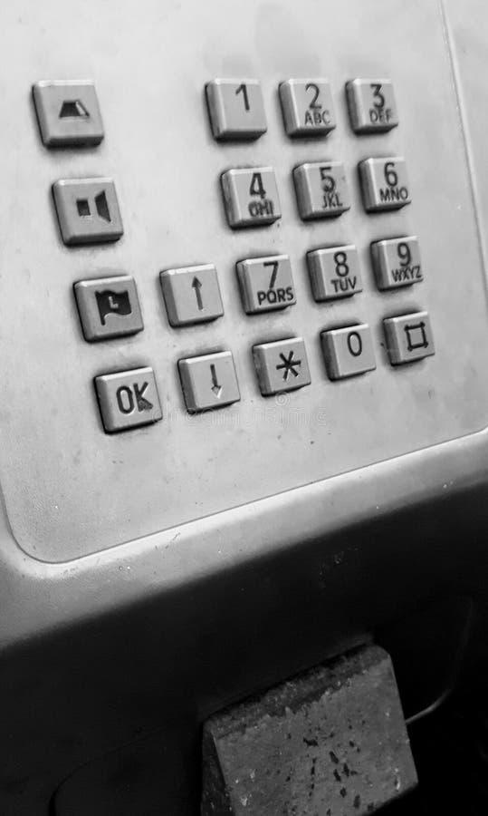 offentlig paytelefon arkivbild
