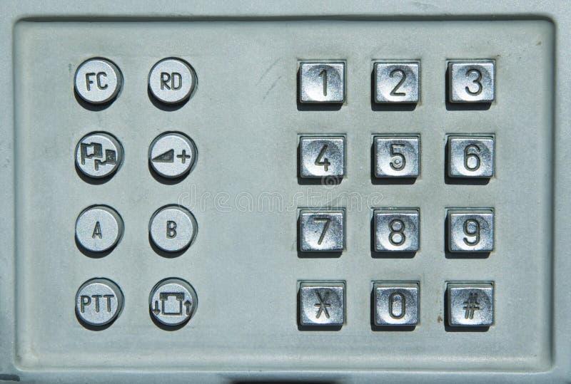 offentlig telefon för tangentbord royaltyfri bild