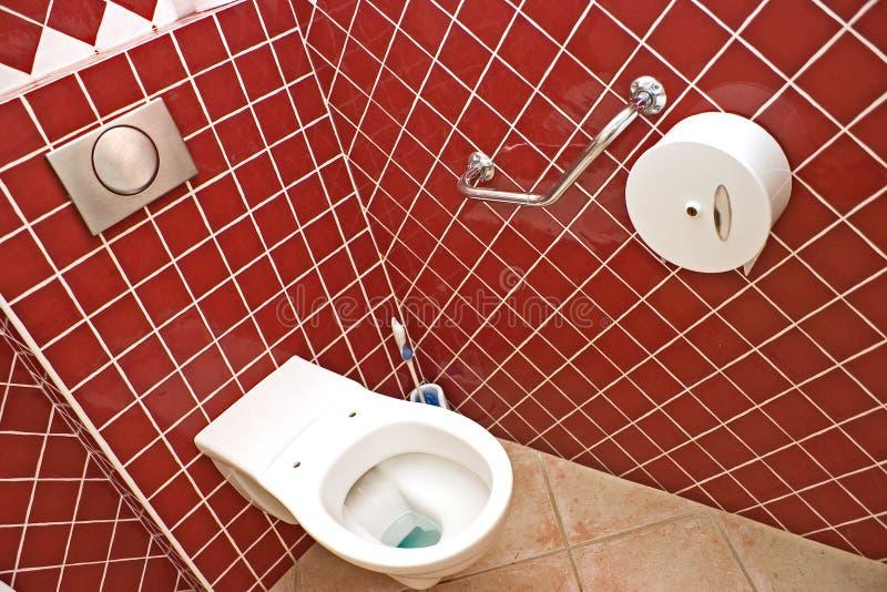 offentlig toalett arkivbilder
