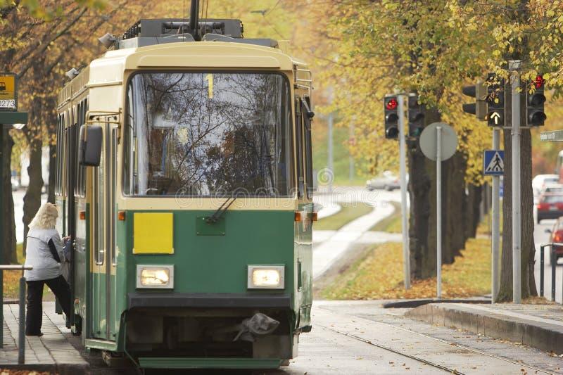 offentlig transport royaltyfri fotografi
