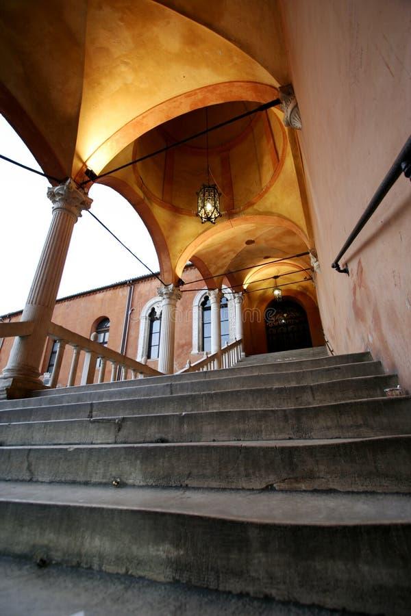 offentlig trappa arkivbild