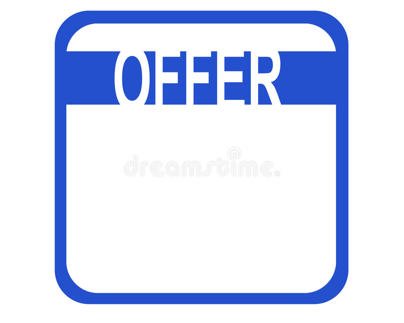 Download Offer Royalty Free Stock Photo - Image: 514955