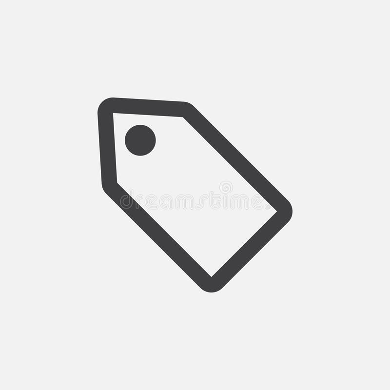 Offer coupon icon, vector logo, linear pictogram isolated on white, pixel perfect illustration. royalty free illustration