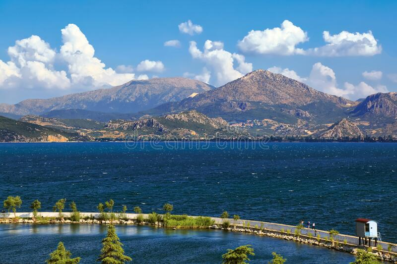 Isparta`s tourism centre is Egirdir. Offering the best opportunities for any kind of especially natural tourism, lots of surprises and beauties are waiting to royalty free stock images