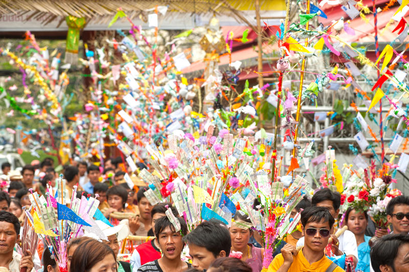 Download Offering Given As Alms On Parades Of Poy-Sang-Long Festival In N Editorial Photo - Image: 31492561
