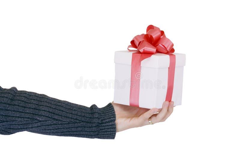 Offerta del regalo immagini stock