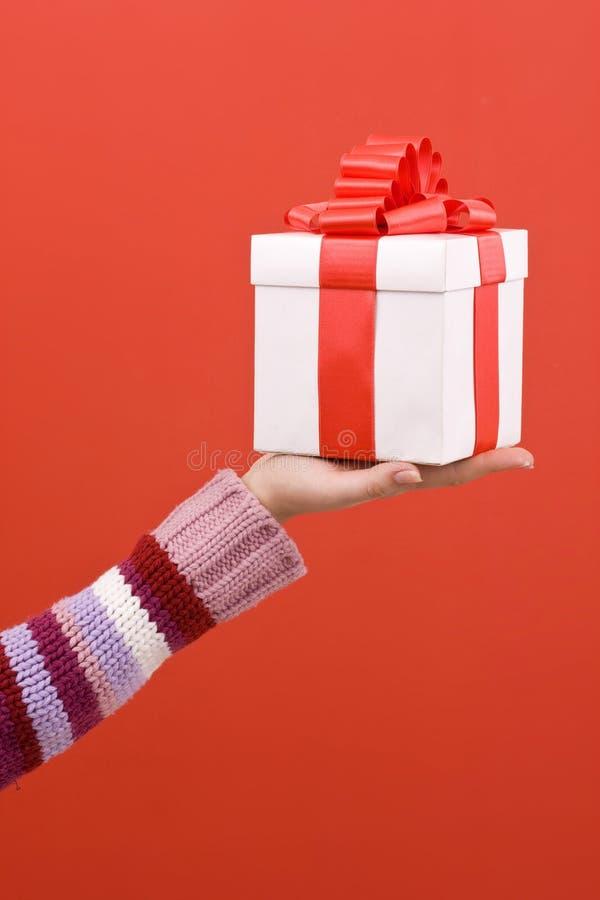 Offerta del regalo fotografie stock libere da diritti