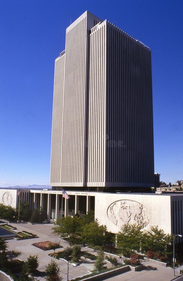 offfice lds церков здания стоковые изображения rf