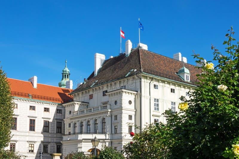Office奥地利总统 库存图片