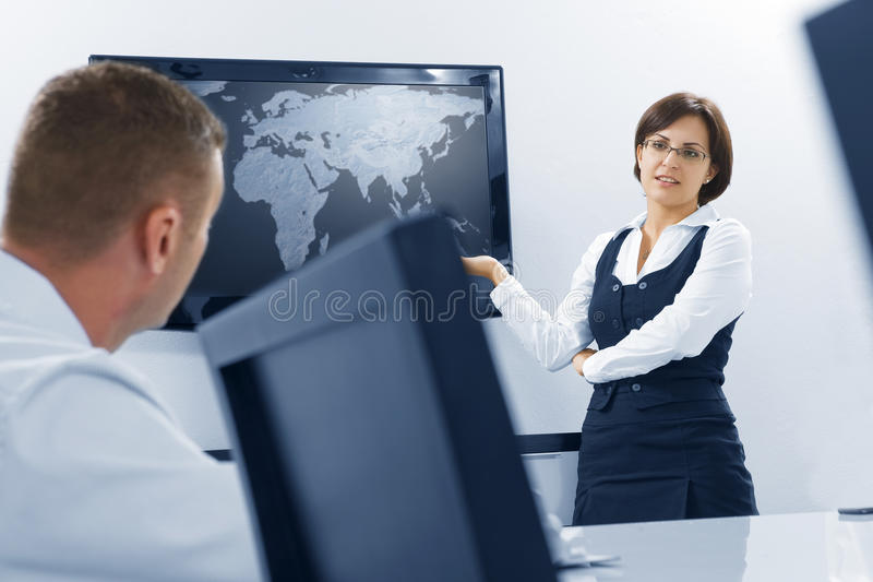 Download In office stock image. Image of discussing, business - 13246709