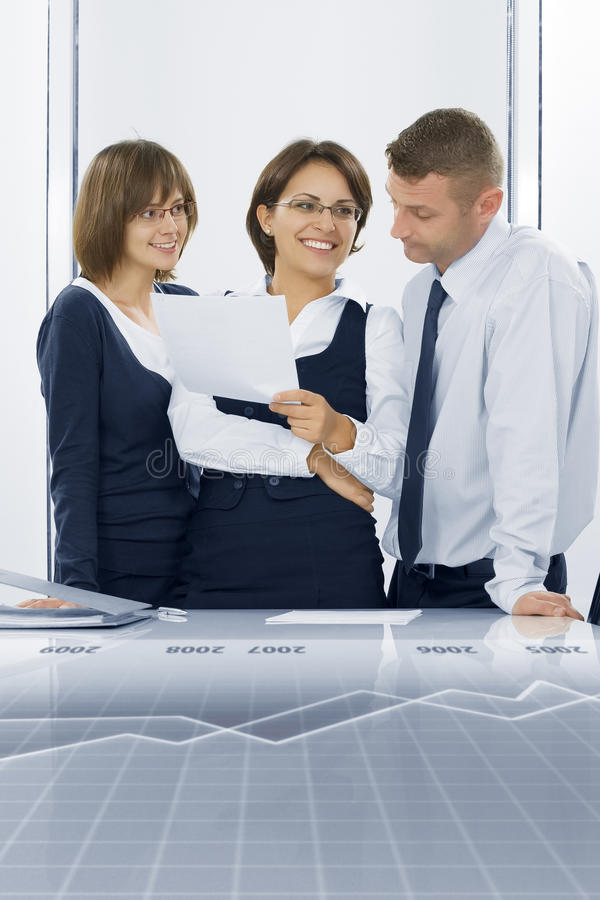 In Office Royalty Free Stock Photos