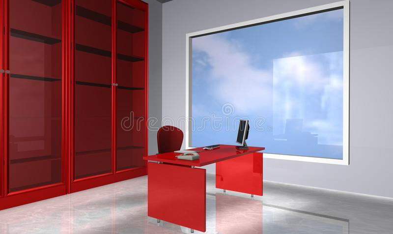 Download Office stock illustration. Illustration of contemporary - 18684257