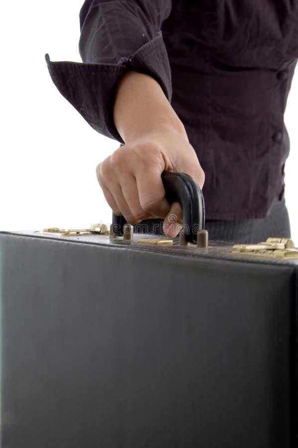 Office bag handling