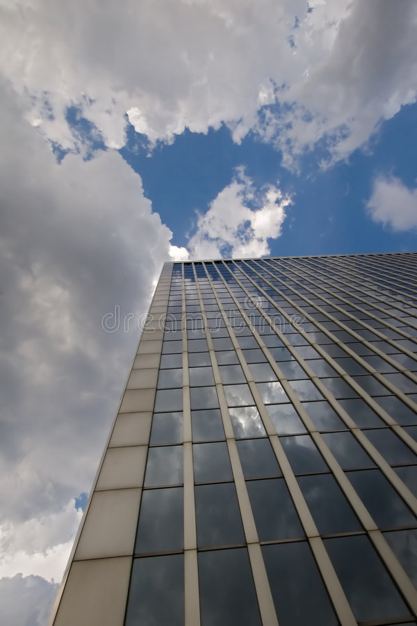 Free Office Buidling With Blue Sky Stock Images - 1058164