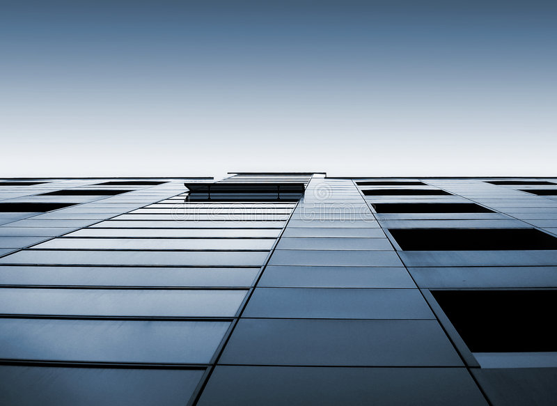Office building 10 stock image
