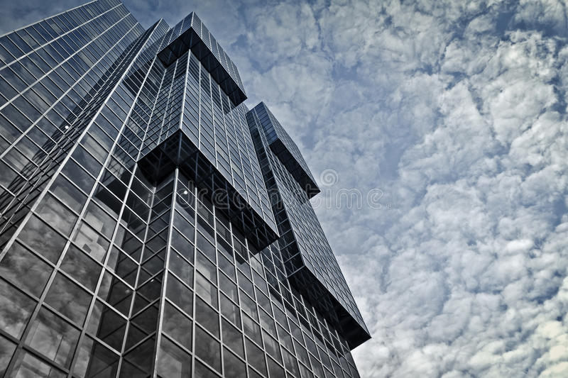 Office Building. Modern office building in London royalty free stock images