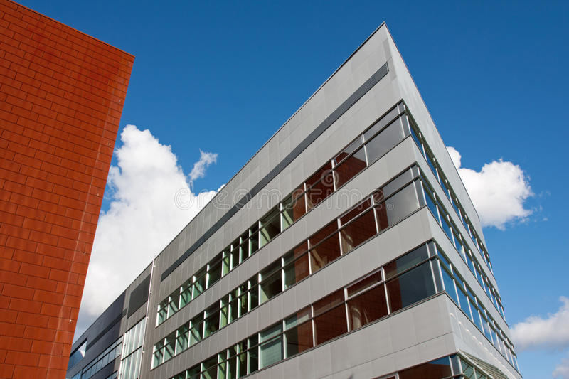Download Office building stock image. Image of workplace, clouds - 21093517