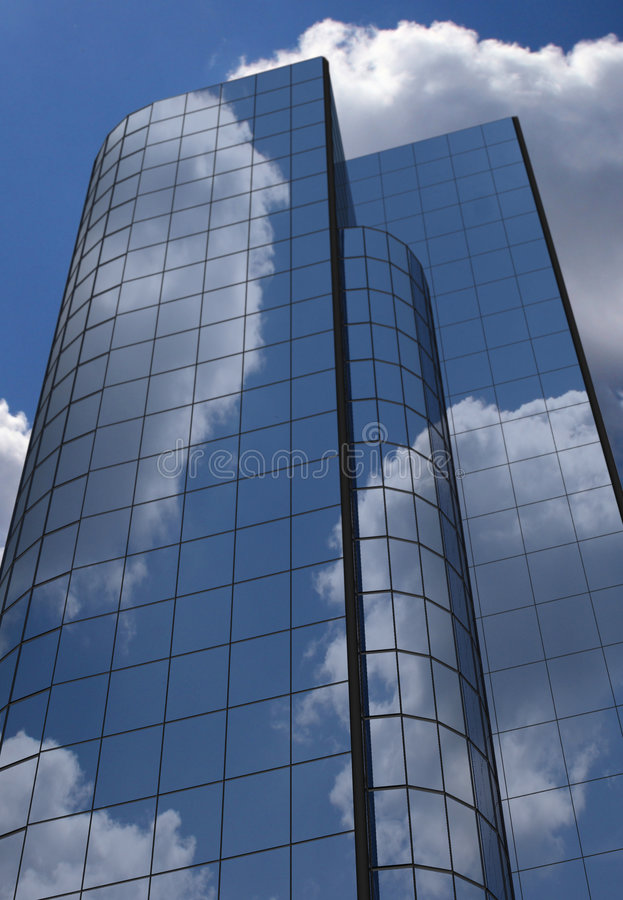 Download Office building stock illustration. Image of perspective - 384416