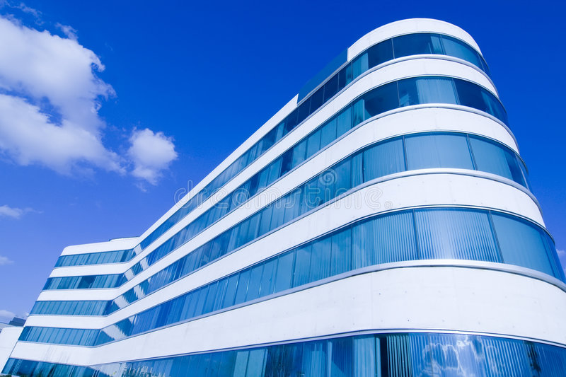 Download Office building stock image. Image of clear, business - 5128593