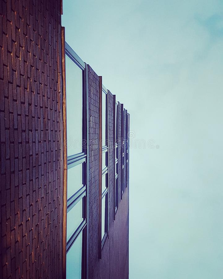 Office Building Against Sky stock image