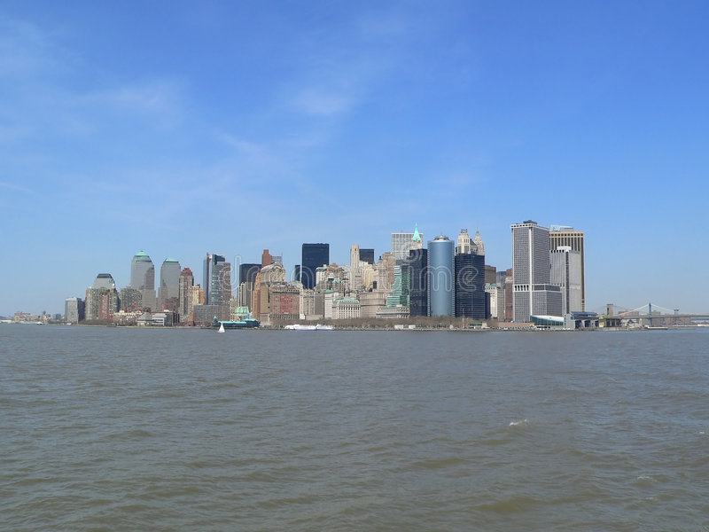 Download Office Building, Apartment Building, Skyscraper, Fill Manhattan, New York City Skyline Stock Image - Image of skyscraper, lower: 112355
