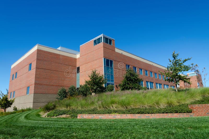 Download Office building on campus stock image. Image of america - 21601073