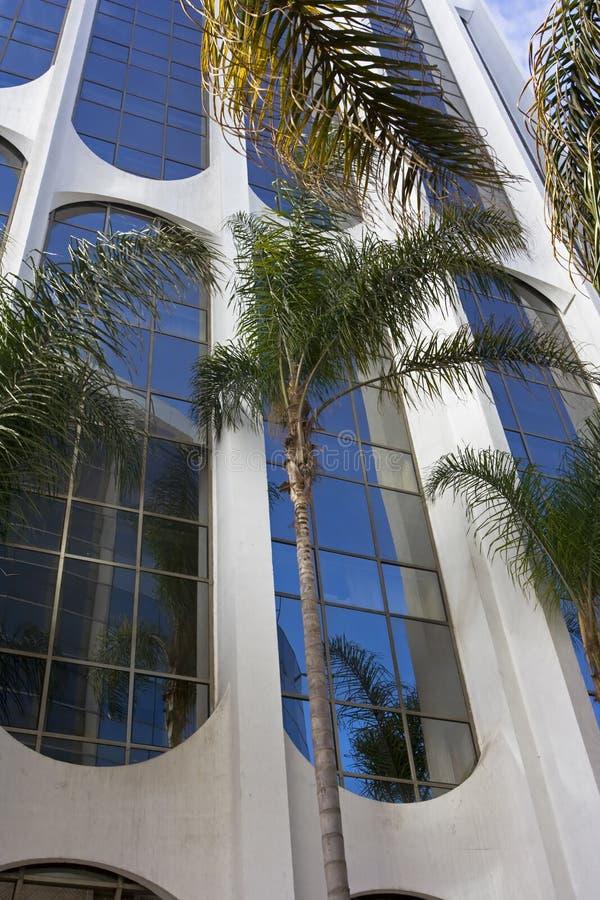 Office building in Casablanca stock image