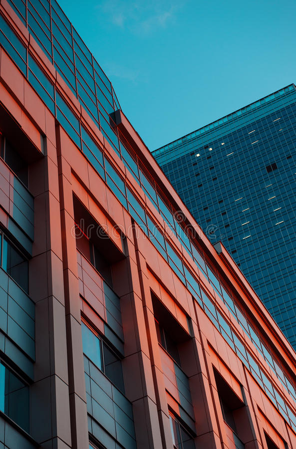 Download Office Building In The Evening Stock Photo - Image: 32975084
